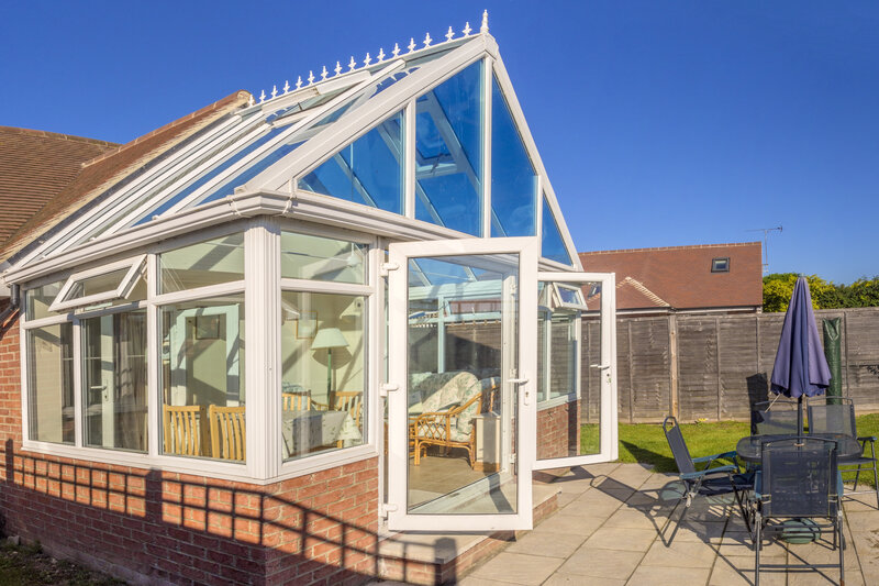 Glass Conservatory in Luton Bedfordshire